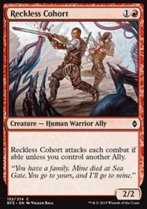 Reckless Cohort (Battle for Zendikar)