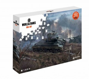 World of Tanks - On the Prowl - Puzzle 1000