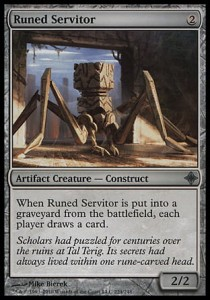 Runed Servitor (Rise of the Eldrazi)