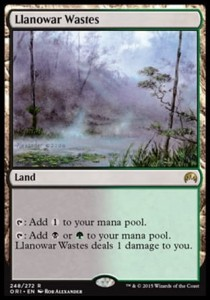 Llanowar Wastes (Magic Origins)