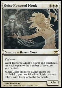 Geist-Honored Monk (Innistrad)