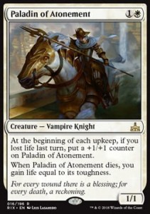Paladin of Atonement (Rivals of Ixalan)