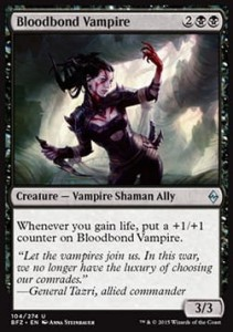 Bloodbond Vampire (Battle for Zendikar)