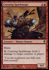 Cunning Sparkmage (Worldwake)