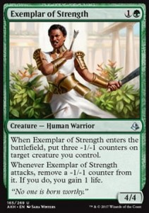 Exemplar of Strength (Amonkhet)