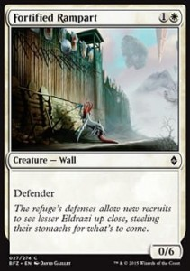 Fortified Rampart (Battle for Zendikar)