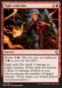 Fight with Fire (Dominaria)