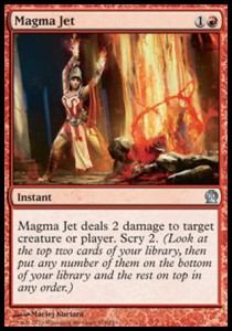 Magma Jet (Theros)