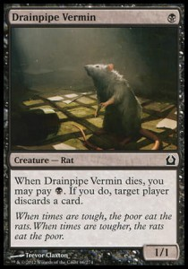Drainpipe Vermin (Return to Ravnica)