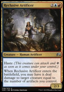Reclusive Artificer (Magic Origins)