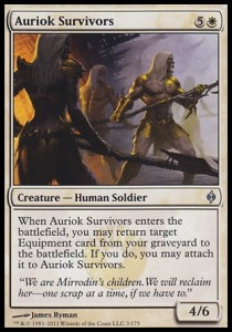 Auriok Survivors (New Phyrexia)