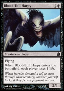 Blood-Toll Harpy (Theros)