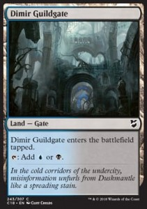 Dimir Guildgate (Commander 2018)