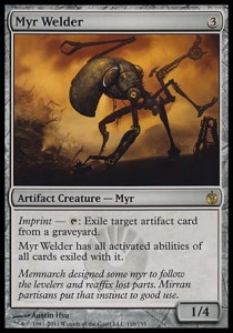 Myr Welder (Mirrodin Besieged)