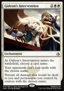 Gideon's Intervention (Amonkhet)