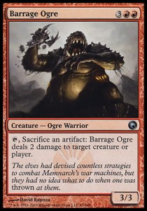 Barrage Ogre (Scars of Mirrodin)