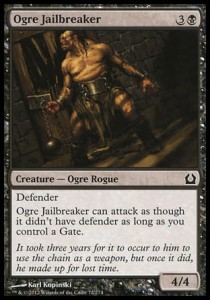 Ogre Jailbreaker (Return to Ravnica)