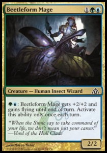 Beetleform Mage (Dragon's Maze)