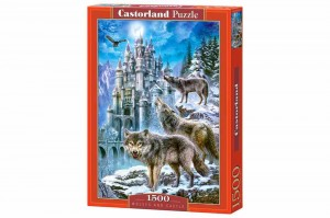 Wolves and Castle - Puzzle 1500
