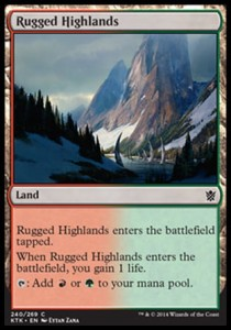 Rugged Highlands (Khans of Tarkir)