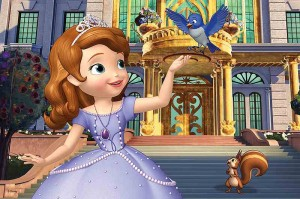 Sofia the First - Przed Pałacem - Puzzle 60