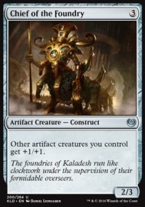 Chief of the Foundry (Kaladesh)