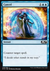 Cancel (M19 Core Set)