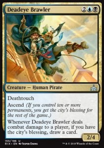 Deadeye Brawler (Rivals of Ixalan)