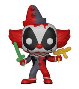 Funko POP Marvel - Clown Deadpool # 322