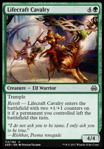 Lifecraft Cavalry (Aether Revolt)