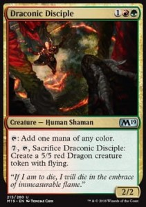 Draconic Disciple (M19 Core Set)