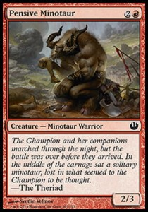 Pensive Minotaur (Journey Into Nyx)