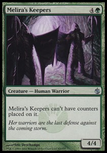 Melira\'s Keepers (Mirrodin Besieged)