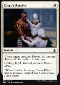 Djeru's Resolve (Amonkhet)