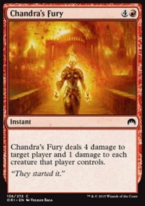 Chandra's Fury (Magic Origins)