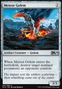 Meteor Golem (M19 Core Set)