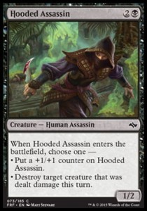 Hooded Assassin (Fate Reforged)