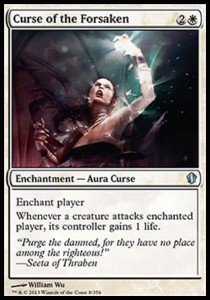 Curse of the Forsaken (Commander 2013)
