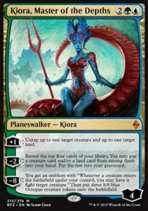 Kiora, Master of the Depths (Battle for Zendikar)