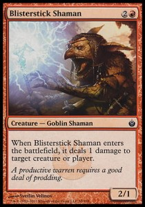 Blisterstick Shaman (Mirrodin Besieged)