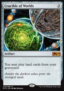 Crucible of Worlds (M19 Core Set)