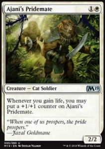 Ajani's Pridemate (M19 Core Set)