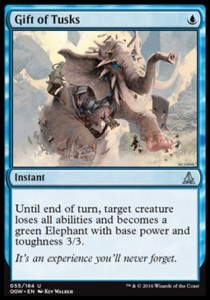 Gift of Tusks (Oath of the Gatewatch)