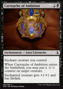 Cartouche of Ambition (Amonkhet)