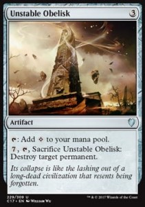Unstable Obelisk (Commander 2017)
