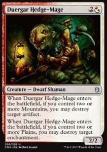 Duergar Hedge-Mage (Commander Anthology 2017)