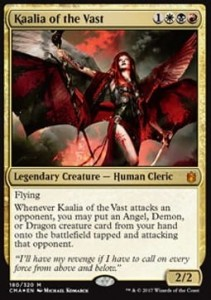 Kaalia of the Vast - FOIL (Commander Anthology 2017)