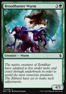 Broodhunter Wurm (Battle for Zendikar)