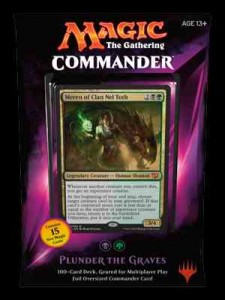 Commander 2015 - Plunder the Graves (Czarno - Zielony)