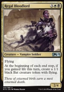 Regal Bloodlord (M19 Core Set)